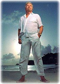 Ричард Брэнсон: гений бизнеса, король эпатажа